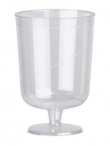Disposable Wine Goblet - 175ml (Pack of 48)