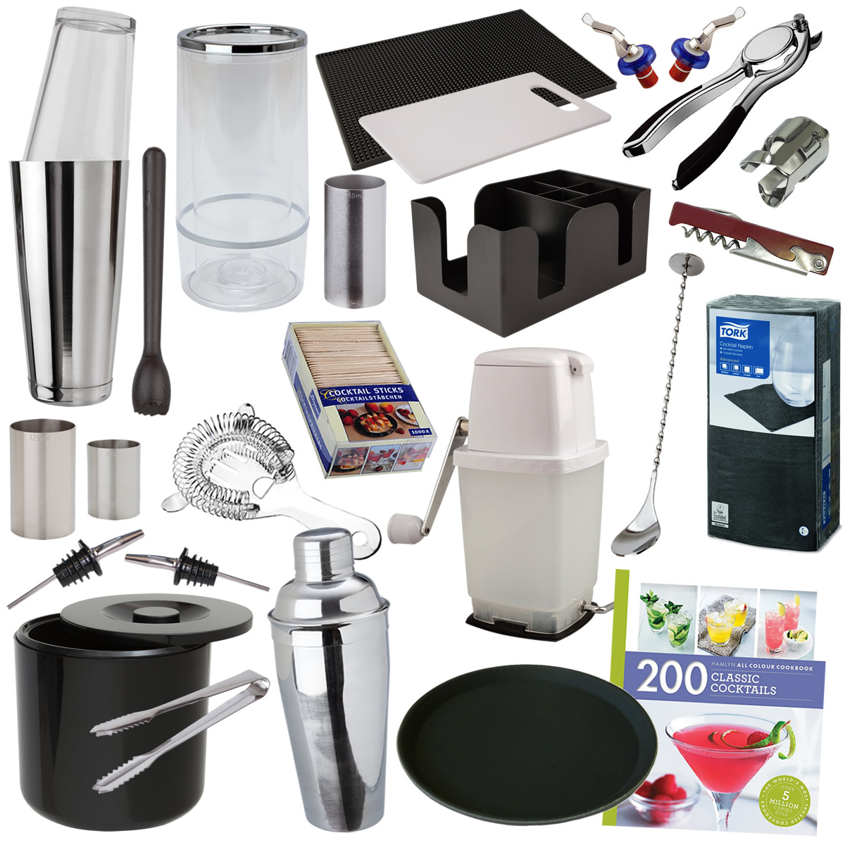 Ultimate Home Bar Equipment Accessories Pack