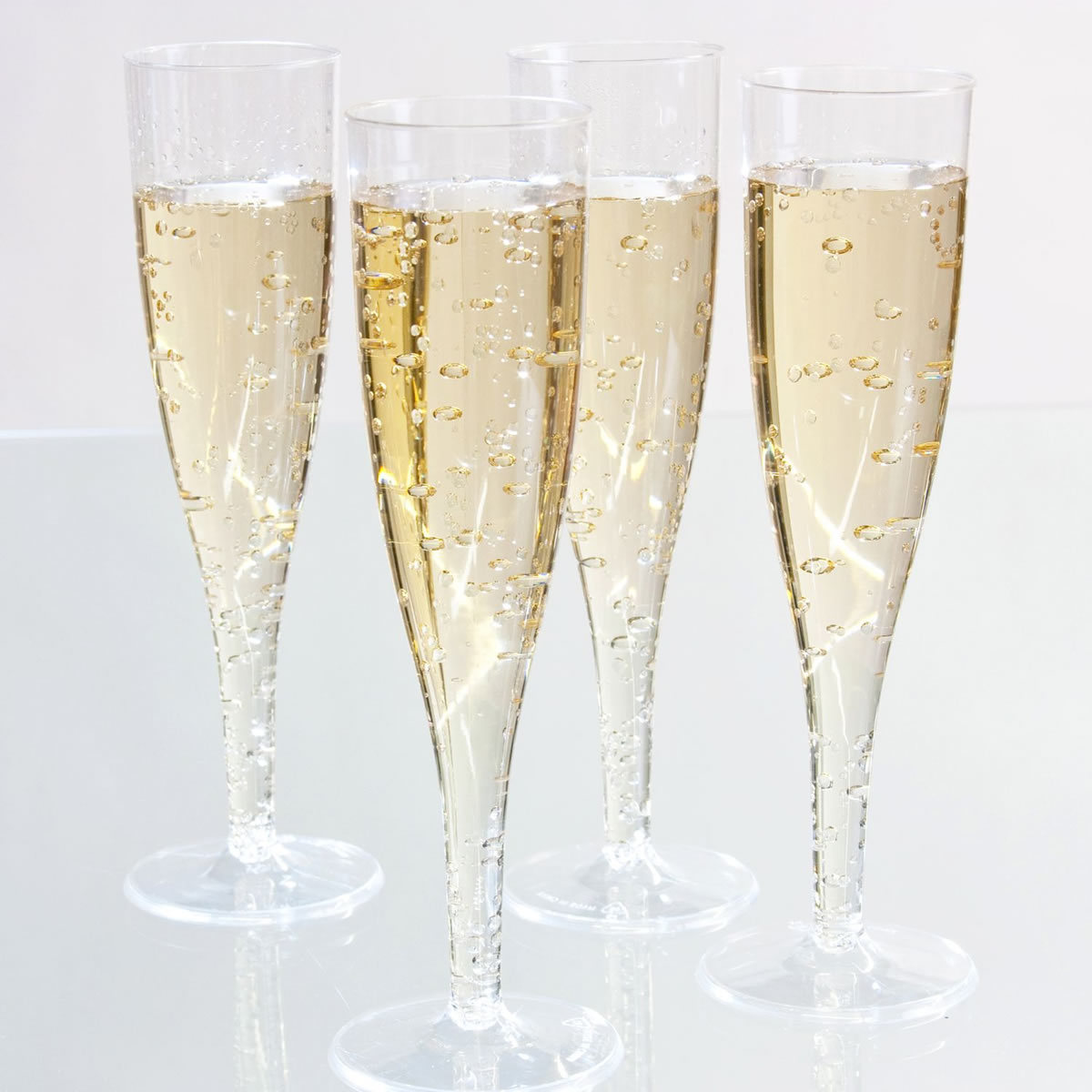 Disposable Champagne Tulip Pack Of 50