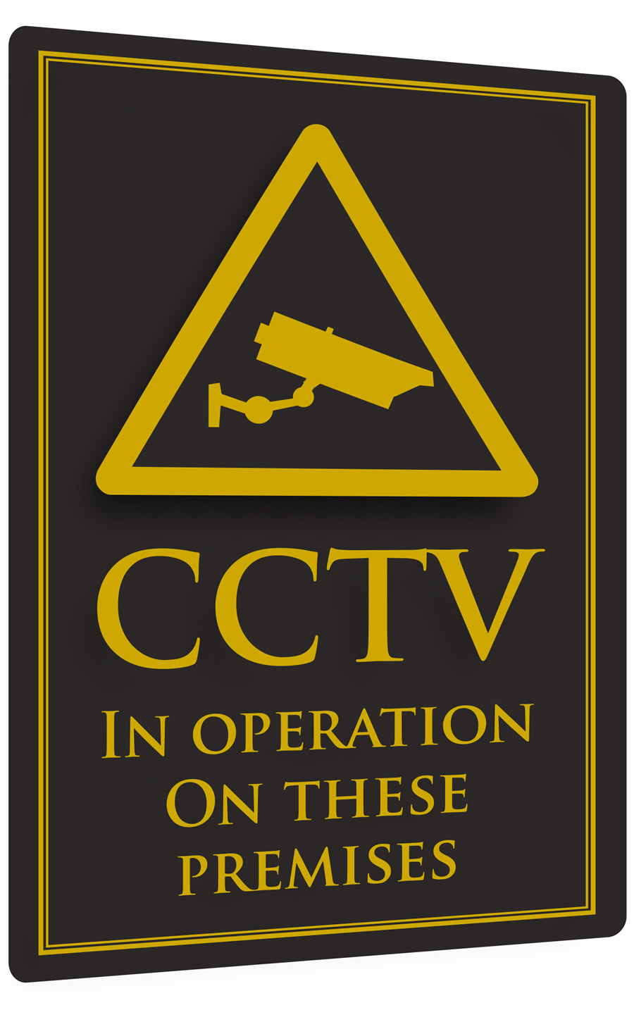 Cctv In Operation Bar Sign