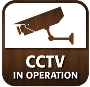 CCTV In Operation Window Sticker
