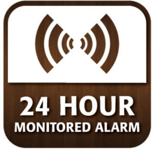 24 Hour Alarm Window Sticker