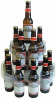 Beer Bottle Retail Display Stand