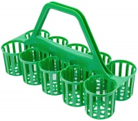 Glass & Bottle Collection Carry Basket