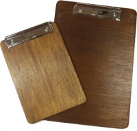 Wooden Menu Clipboard