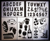 Bar Images Stencil Pack