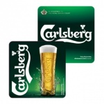 Carlsberg Drip Mat (Pack of 100)