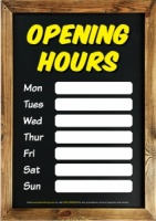 Opening Hours 2