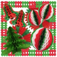 Festive Tissue Decoration Pack